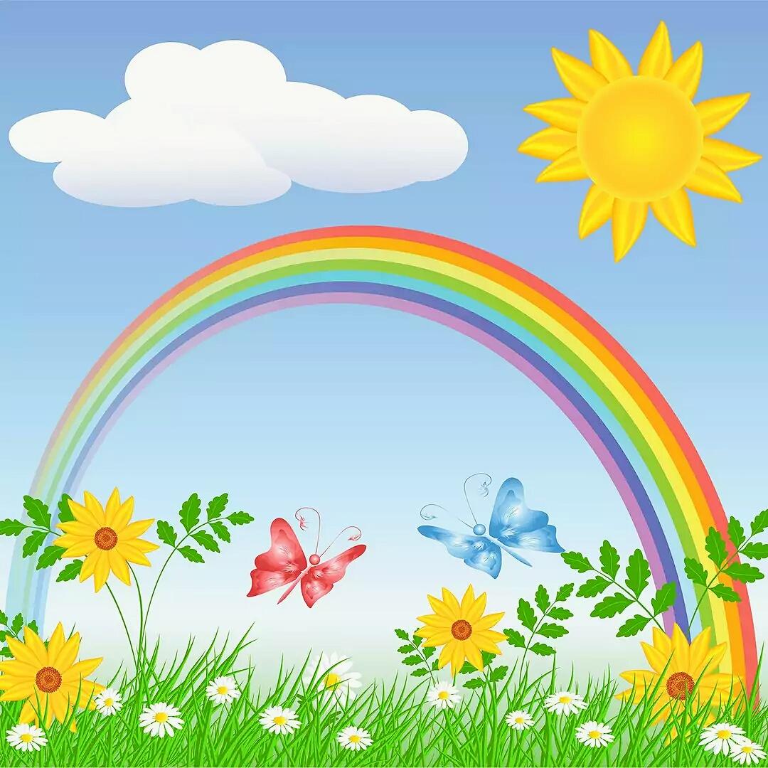 062 Солнце и радуга - Мини-сказки 60-69 слов - По ...
